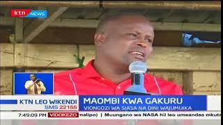 Maombi kwa Gakuru: Viongozi wa siasa na dini wajumuika kumuombea mwenda zake Wahome Gakuru