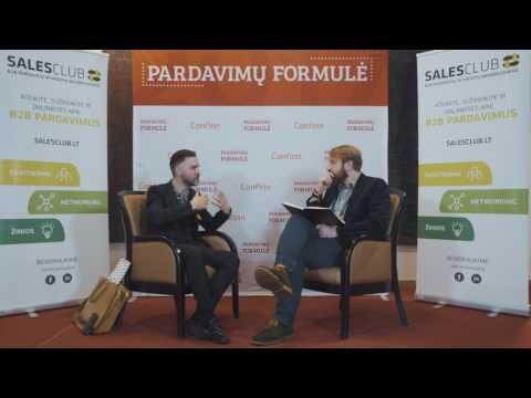 INTERVIU SU ANTONI LACINAI: Apie bendravimą ir pardavimus