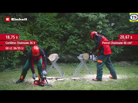 Einhell Power X-Change 36V (2x18V) 35cm Cordless Chainsaw