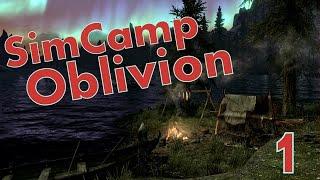 Обзор мода SimCamp на Oblivion (Как установить палатку) 1