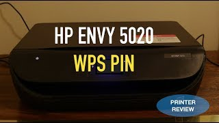 HP Envy 5020 Printer WPS PIN Number review !!