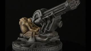 Alien Space Jockey Figurine from the 1979 sci-fi horror classic, Alien.