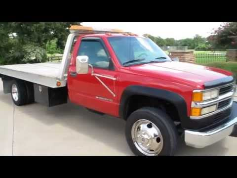 Chevy Silverado 3500HD, Century Roll Back Wrecker, 77k Miles, For Sale In Texas Mp3