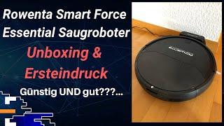 Rowenta Smart Force Essential Saugroboter: Unboxing und Ersteindruck
