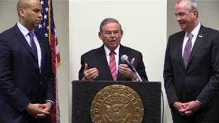 Sen. Menendez Meets with Sen. Booker and Governor-Elect Murphy