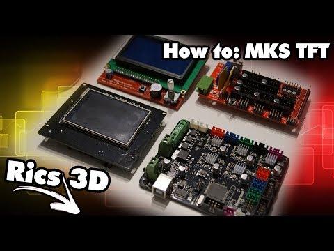 MKS Base with TFT 32 custom icons \
