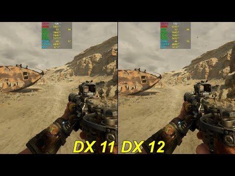 Windows 10 DirectX 11 VS DirectX 12 Comparison/60FPS