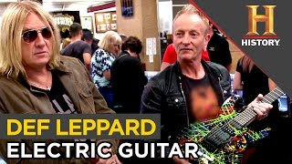 Things Get Electric With Def Leppard Guitar | Pawn Stars