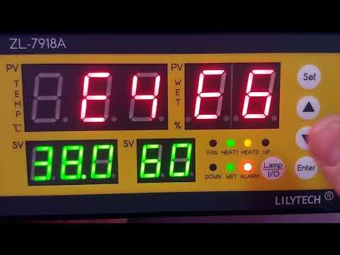 Обзор и инструкция по настройке контроллера для инкубатора Lilytech 7918A. Отличная замена XM-18