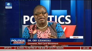 We Are Hoping To Disrupt The Politics As We Know It In 2019 - Oby Ezekwesili Pt.1 |Politics Today|