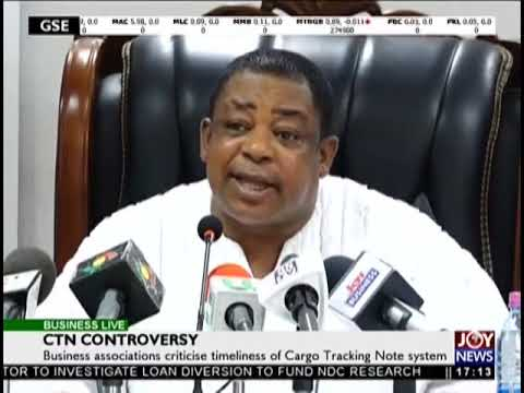 CTN Controversy - Business Live on JoyNews (16-10-18)