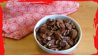 Roasted Pecans With Butter And Salt