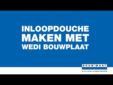Wedi Bouwplaat 60x125 cm dikte 4 mm - Bouwmaat