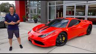 Is The 2015 Ferrari 458 Speciale The ULTIMATE Modern Ferrari To BUY?