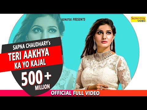 Download Teri Aakhya Ka Yo Kajal | Superhit Sapna Song | Sapna Chaudhary | New Haryanvi Song 2018 | Sonotek HD Mp4 3GP Video and MP3