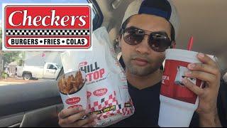 ME EATING CHECKERS RALLY'S MUKBANG - Video Youtube