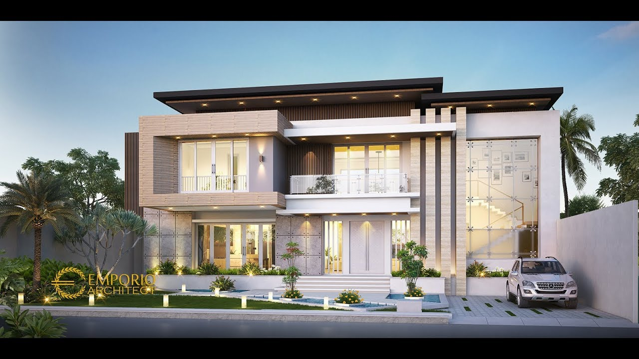Video 3D Mr. Dicky Goni Modern House 2 Floors Design - Maumere, Nusa Tenggara Timur