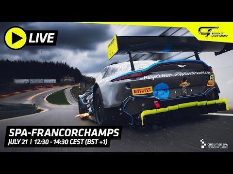 MAIN RACE - SPA - BRITISH GT 2019