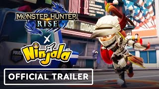 Ninjala x Monster Hunter Rise - Official DLC Trailer by GameTrailers