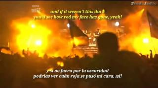 Arctic Monkeys- You probably couldn't see for the lights (inglés y español)