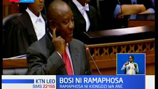 Cyril Ramaphosa ateuliwa kama rais wa Afrika kusini baada ya Jacob Zuma kujiuzulu