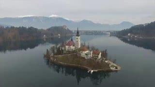 Drone DJI Phantom 3 & 4 - Slovenia Beautiful Collection