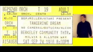 ANDY SUMMERS - Berkeley, CA, U.S.A.  24-9-1988 ..... FULL CONCERT !