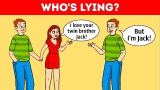 Who's Lying? 10 Detective Riddles To Workout Your Logic