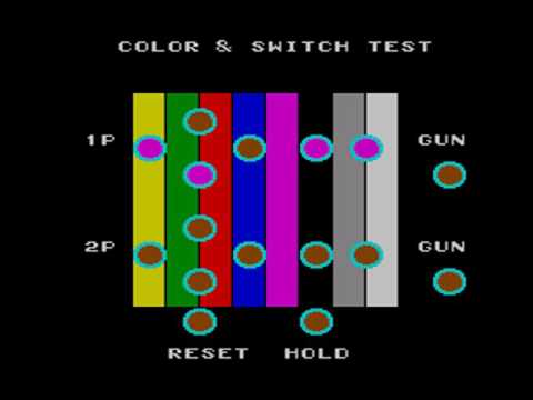 Sega Master System Color & Switch Test