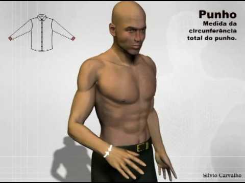 Como tirar as medidas para uma camisa - Silvio Carvalho