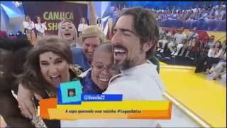 Herói do carisma: Superman coloca todo mundo para dançar no Canjica Show
