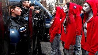 Париж: пятая суббота протестов