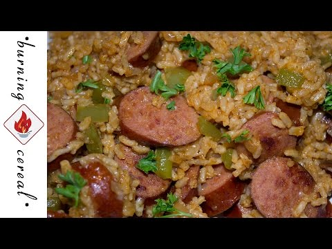 Video Spicy Sausage and Rice One Pot Meal - RECIPE