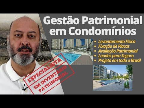 Controle de Bens Patrimoniais em Condomínios em todo o Brasil! Avaliação Patrimonial Inventario Patrimonial Controle Patrimonial Controle Ativo