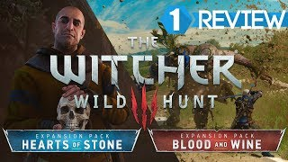 Witcher 3: Hearts of Stone & Blood and Wine Review in 2 and a half minutes