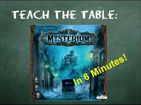 How to play Mysterium - Teach The Table