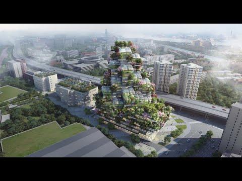 Urbana vertikalna farma Brighfood - Zgrada koja kombinuje arhitekturu, poljoprivredu i estetiku (VIDEO)