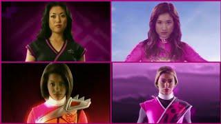 Power Rangers Pink Ranger Morph - Neo Saban—Samurai, Megaforce, Dino Charge, Ninja Steel