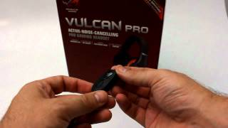 ASUS ROG Vulcan Pro gaming  headset unboxing [PCAXE.COM]