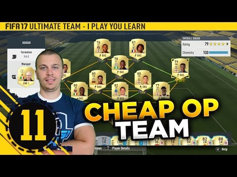 FIFA 17 ROAD TO DIVISION 1 #11 - MY  CHEAP & OVERPOWERED SQUAD IS READY - HOW TO WIN GAMES IN FUT