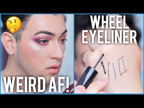 MAC Roller Wheel Pizza Cutter Eyeliner Tested… Honest AF Review!