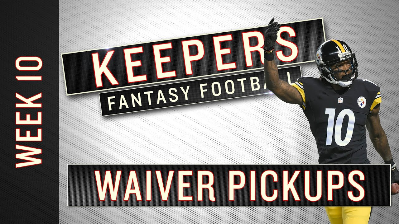 Fantasy Football Advice: 5 Waiver Wire Claims to Make for NFL Week 10 thumbnail
