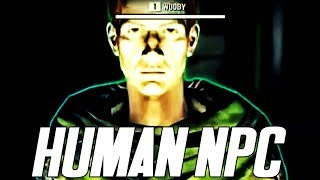 FALLOUT 76 NEW HUMAN NPC IN GAME | FALLOUT 76 DEV ROOM FOOTAGE