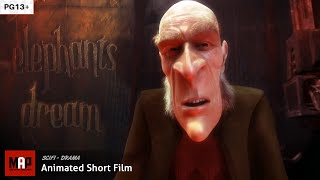 Sci-Fi Drama  ** ELEPHANTS DREAM ** CGI 3d Animated Short FILM by Blender Foundation [PG13]