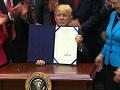 Trump signs four bills rolling back Obama-era regulations