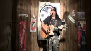 Another pretty country song-David Allen Coe cover by John Mark Davis