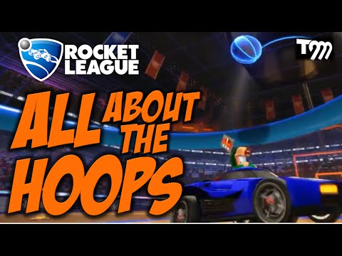 AWESOME HOOPS - Rocket League Goals & Saves