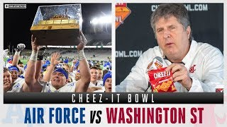 How To Bet The Cheez-It Bowl With Expert Picks: Air Force vs Washington State | CBS Sports HQ