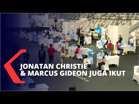 820 Atlet Ikuti Vaksinasi Corona di Istora Senayan Jakarta