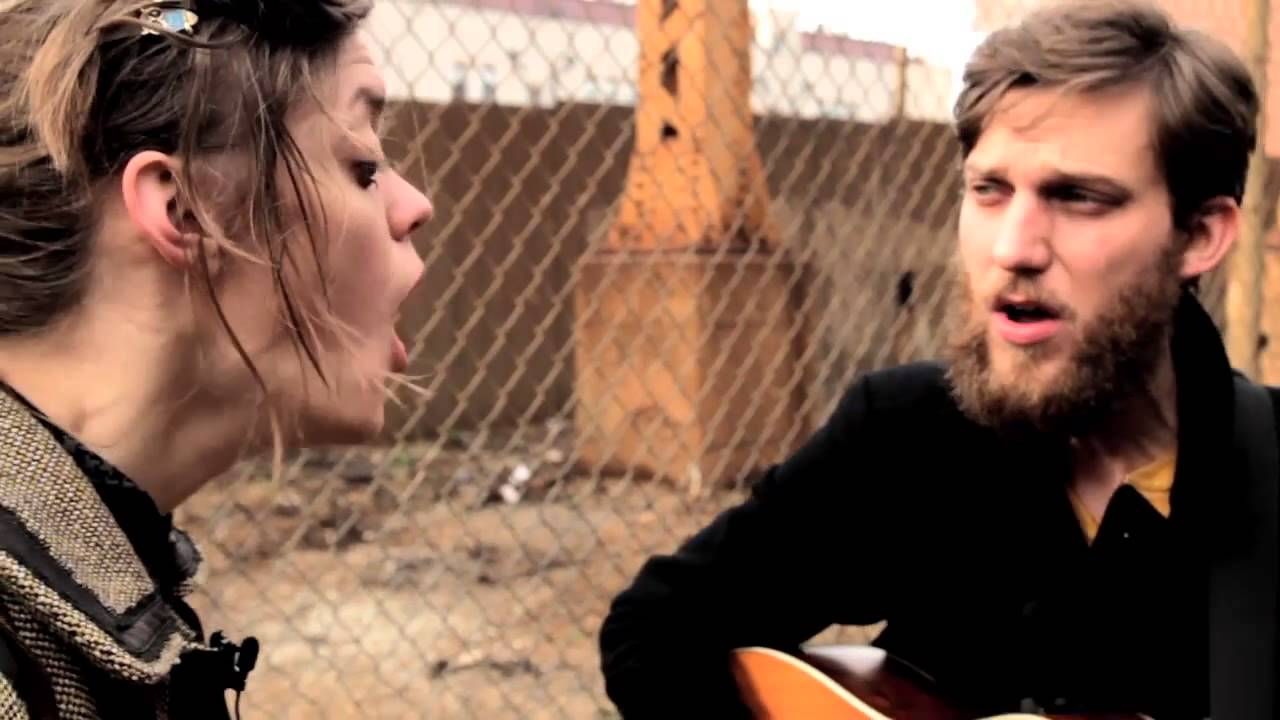 A music video shot live for musical duo The Rough & Tumble.